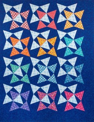 Blooming Wallflowers Paper Quilt Pattern by Christa Watson (CQ120)
