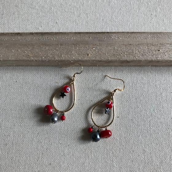 Image of Chadraka - Boucles d'oreilles - 14 carats