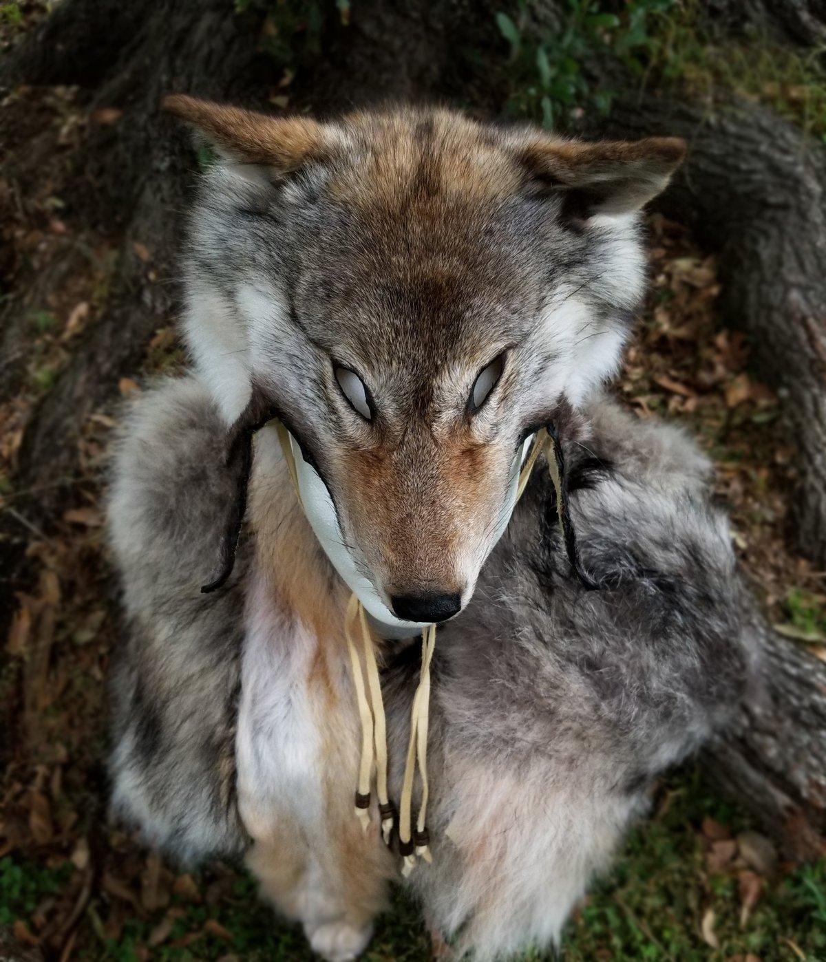 Image of Coywolf Headdress