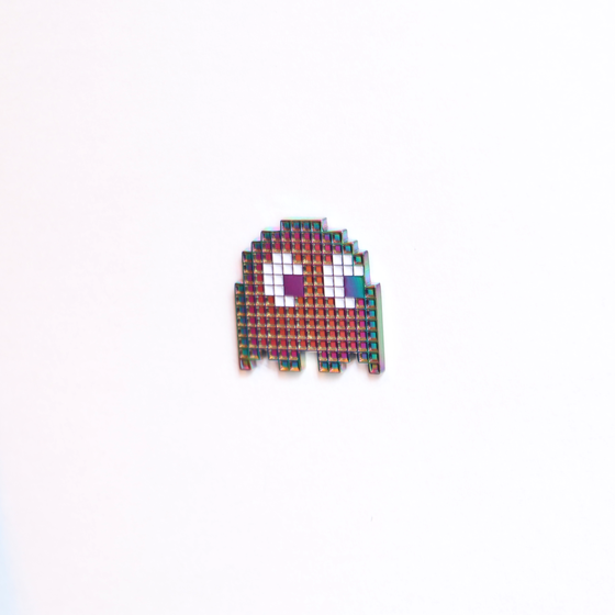 Image of 'RAINBOW GHOST' PIN !