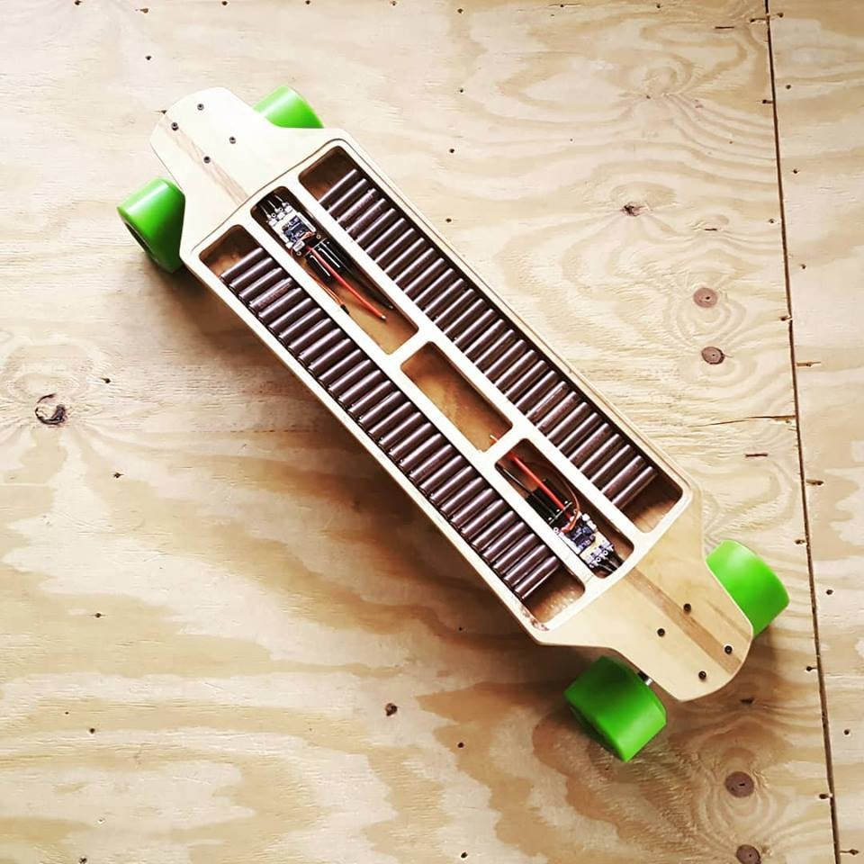 Image of Ollin FreeRide - Re-Curve Longboard Deck