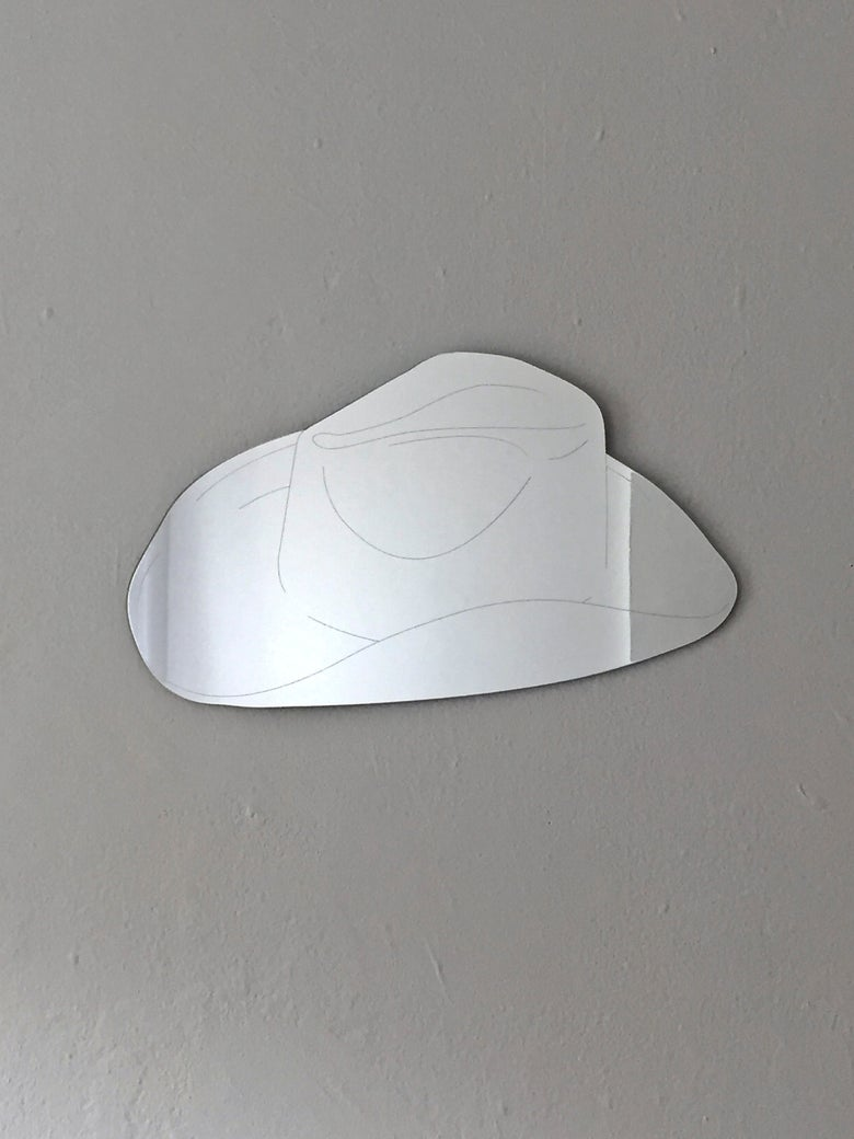 Image of COWBOY HAT mirror