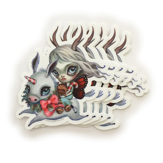 Image of Holidonkey Sticker