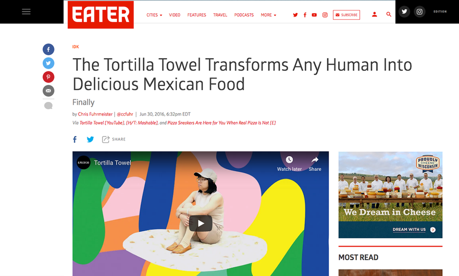Image of Original Tortilla Towel