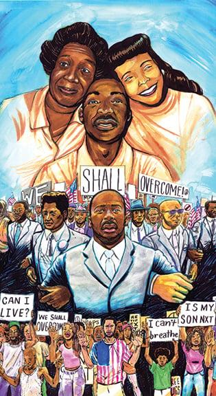 """Image of """"We Shall Overcome"""""""