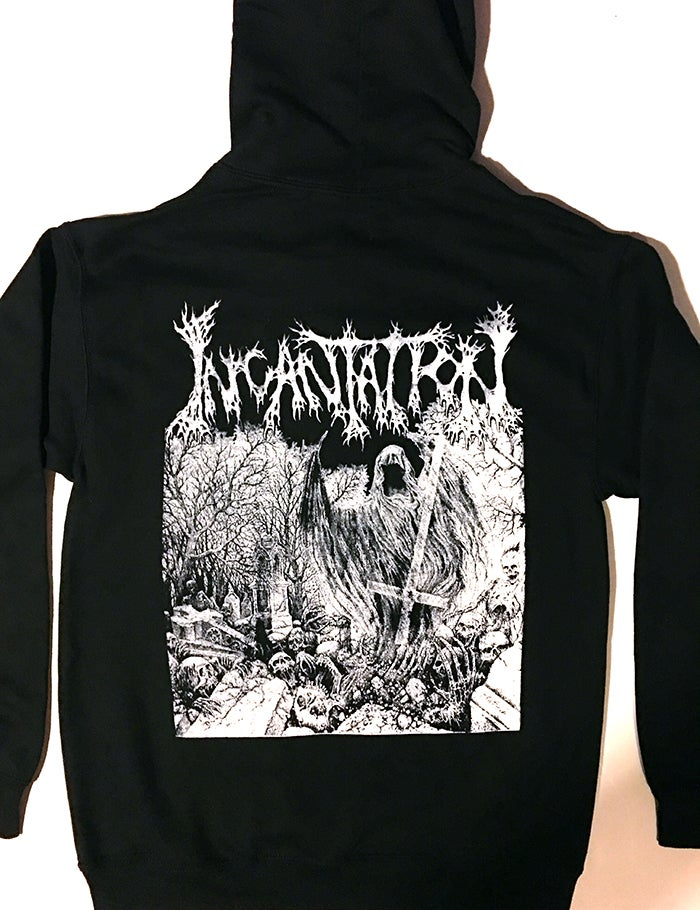 "Image of Incantation "" Rotting "" Hoodie"