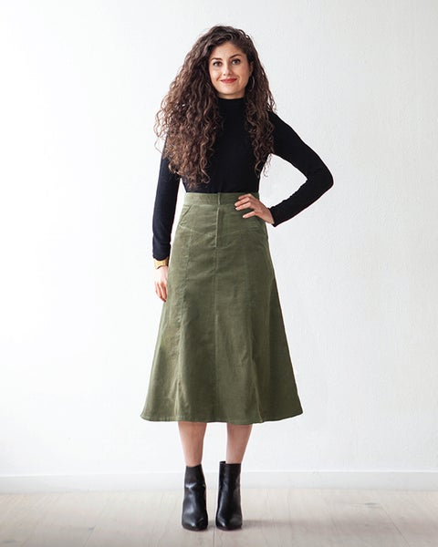 Image of SALIDA SKIRT (PDF)