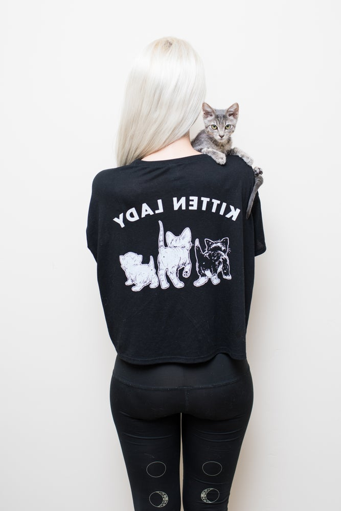 Image of Kitten Butts Cozy Ladies' Tee!