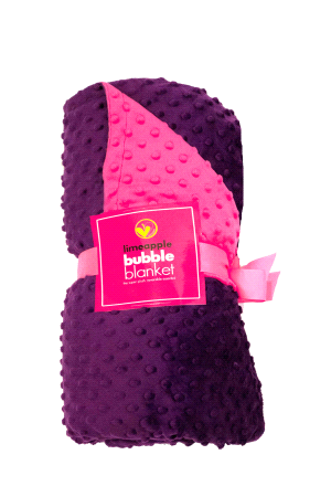 Image of Cuddle Bubble Reversible Blanket