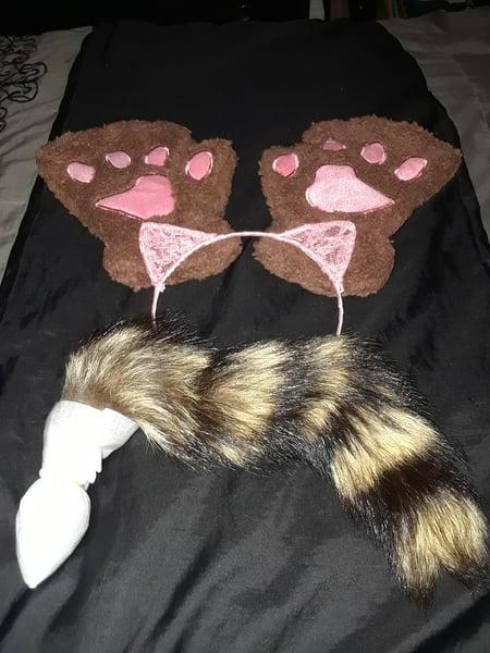 Image of 3 Piece Brown & Pink Kitten Play Bundle