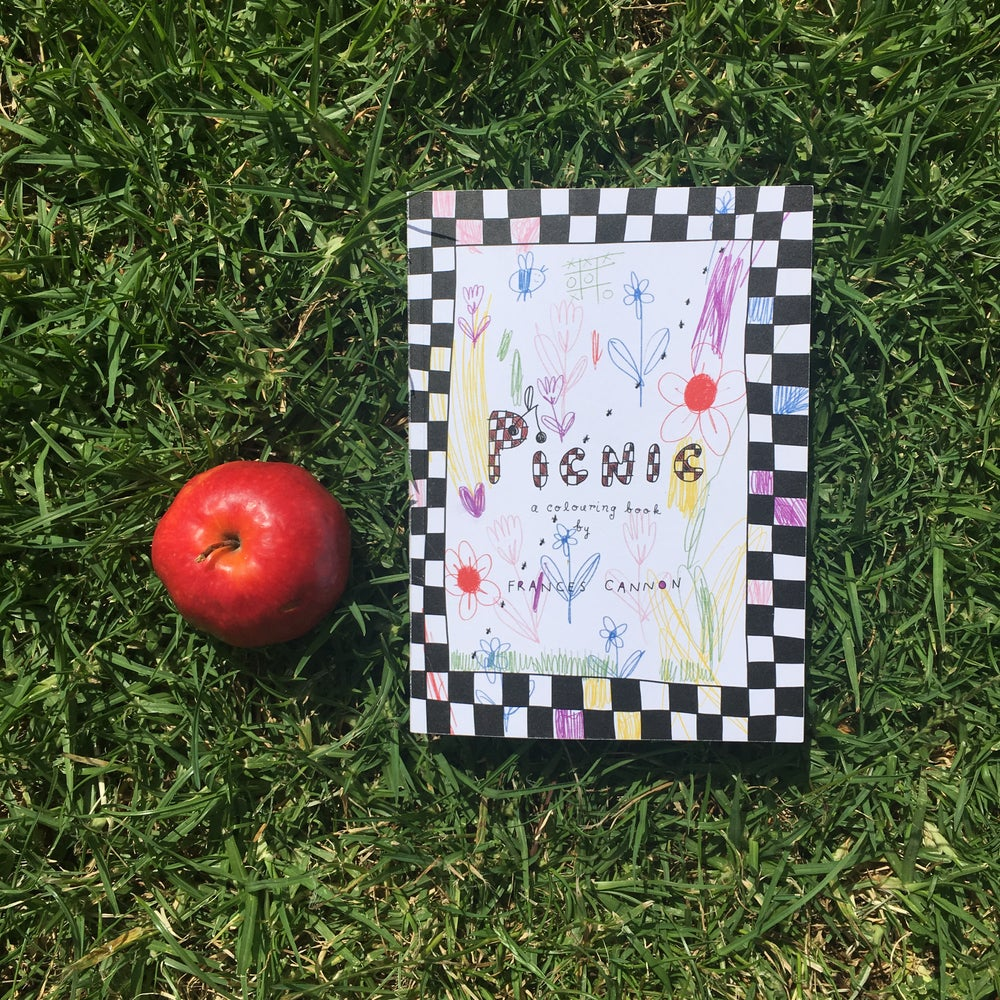Image of Picnic Colouring Book