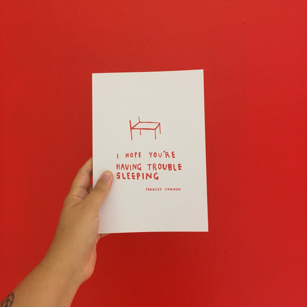 Image of I Hope You're Having Trouble Sleeping Poetry Book