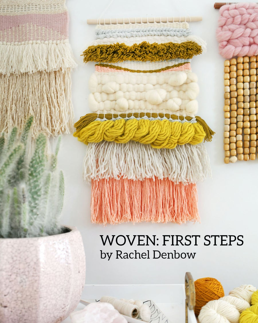 Image of Woven: First Steps, Beginner's Weaving Video eCourse