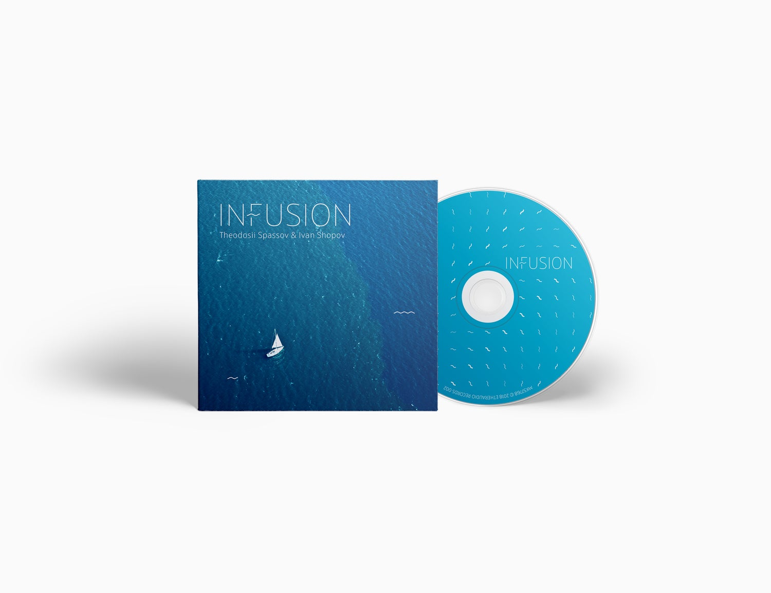 Image of Theodosii Spassov & Ivan Shopov - InFusion (CD with booklet)