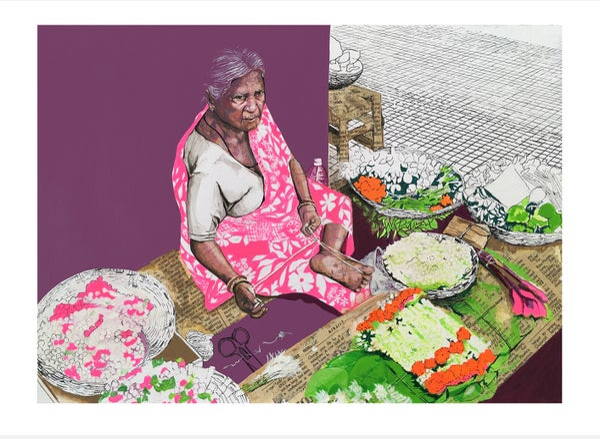 Image of Phoolwali Print