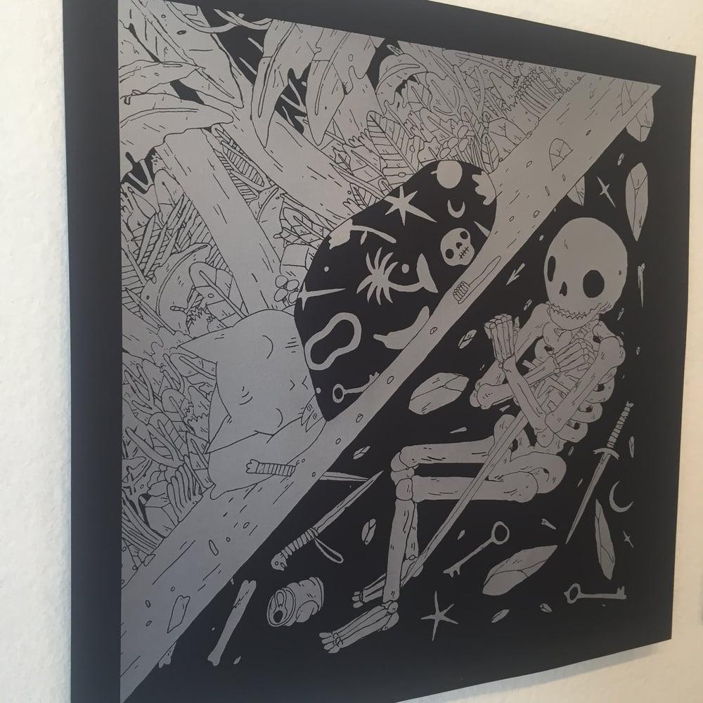 Image of Sleeping Print