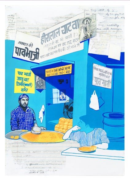 Image of Heeralal Pav Bhaji Print