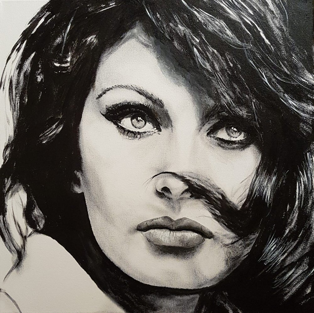 Image of Sophia Loren limited edition