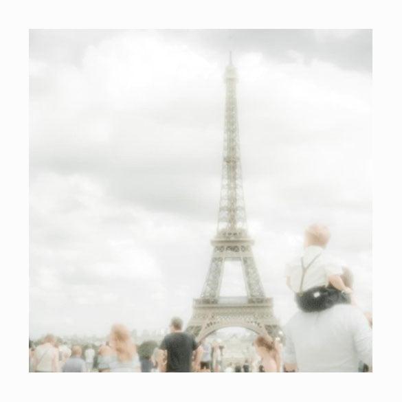 "Image of Paris / Eiffel Tower #1 ""Shoulders sitting"""