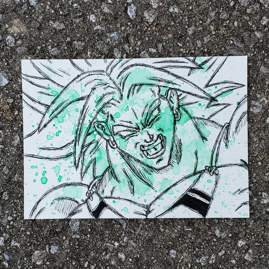Image of DBZ- Goku and Broly Pair