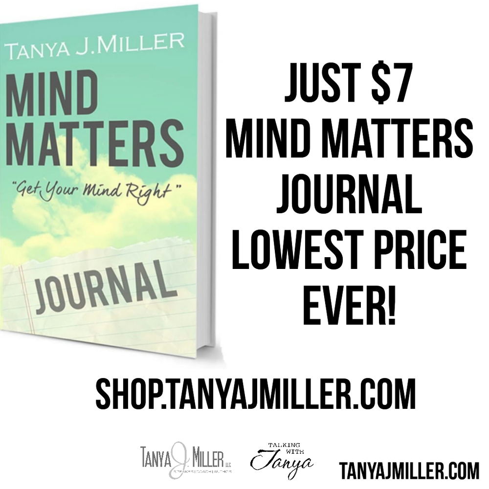 Image of Mind Matters: Get Your Mind Right Journal SALE