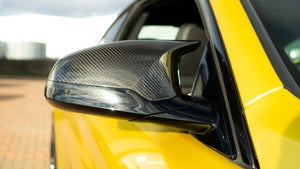 Image of BMW M3 M4 Carbon Wing Mirror Caps