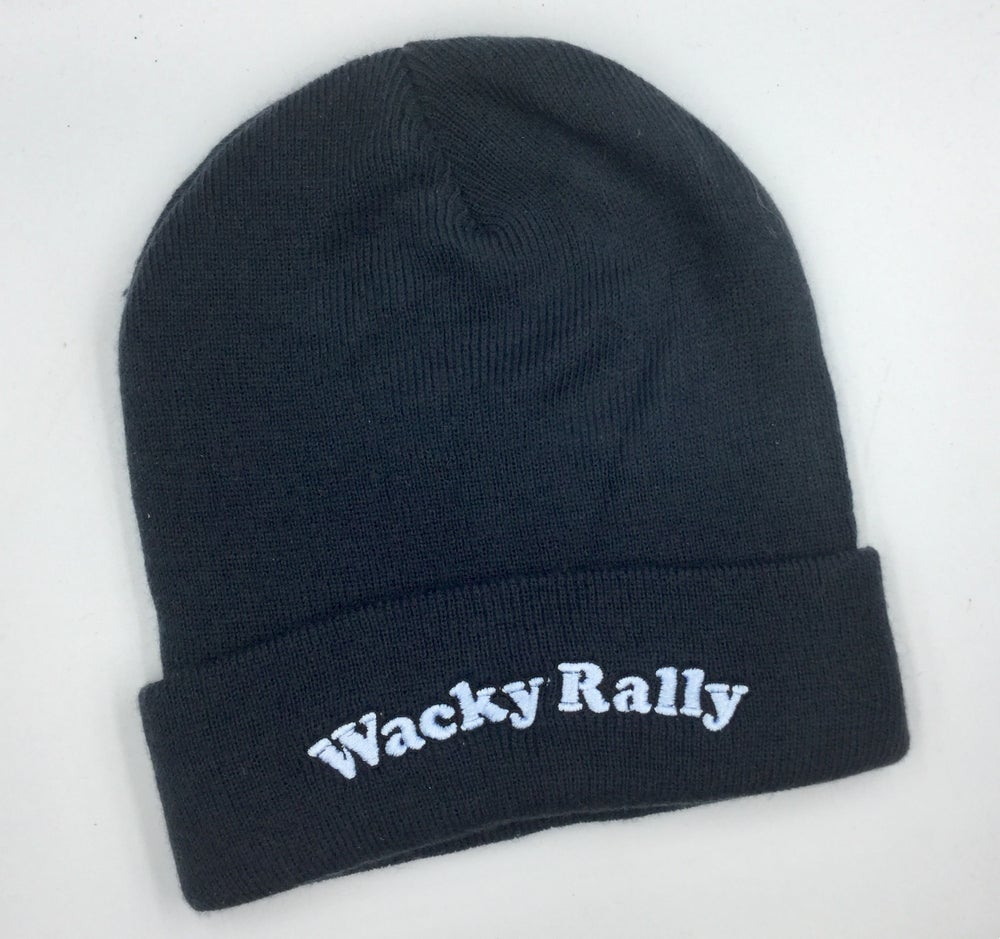 Image of Wacky Beanie in French Navy
