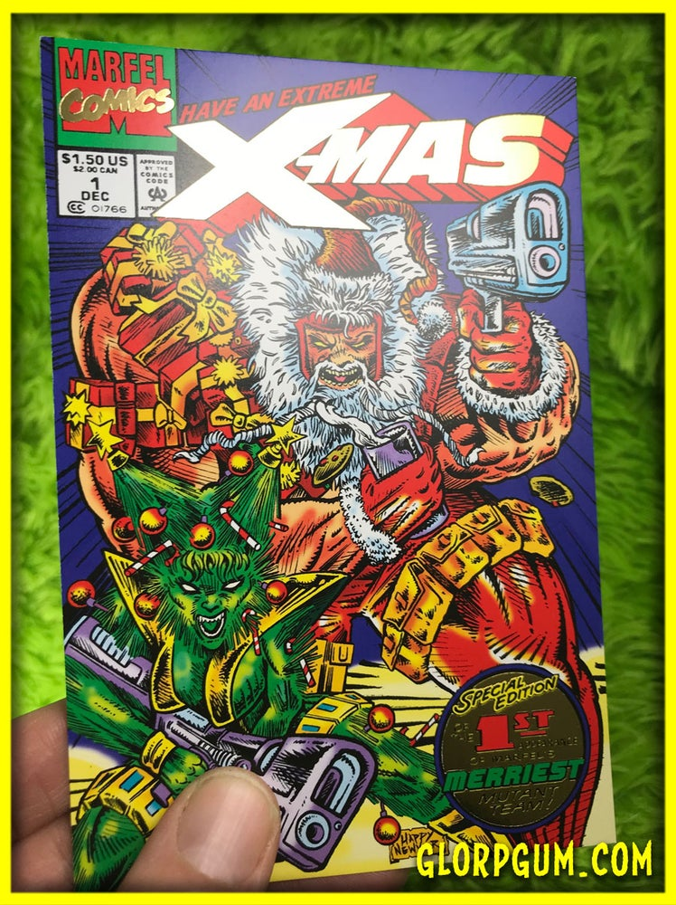 Image of Extreme X-MAS #1 Special Gold Foil Collectors Edition Holiday Cards!