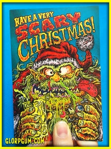 Image of Have a Scary Xmas Holiday cards!