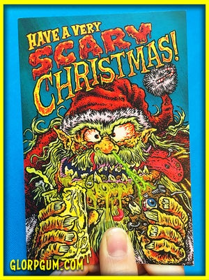 Have a Scary Xmas Holiday cards!