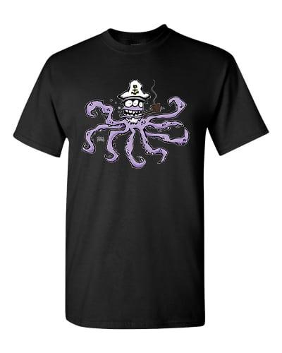 Image of Captain Squid T-Shirt (crew neck)