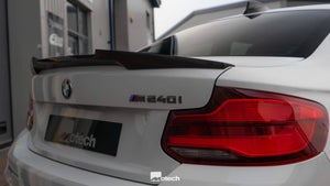 Image of BMW M2 M235i M240i Carbon Rear Spoiler ( M4 style )