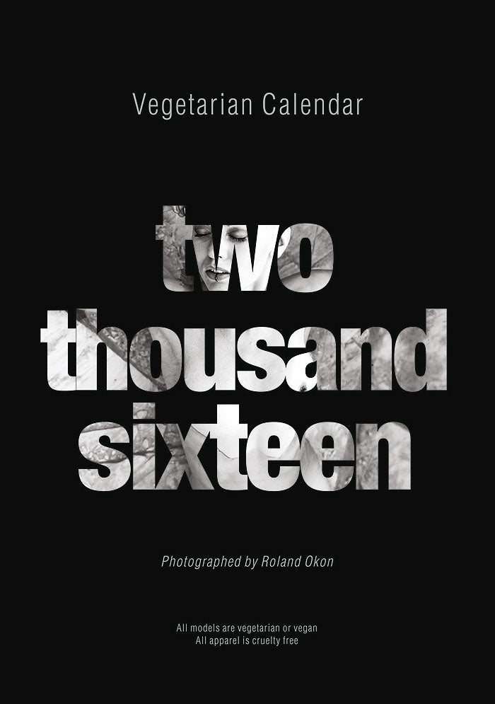 Image of Vegetarian Calendar 2016