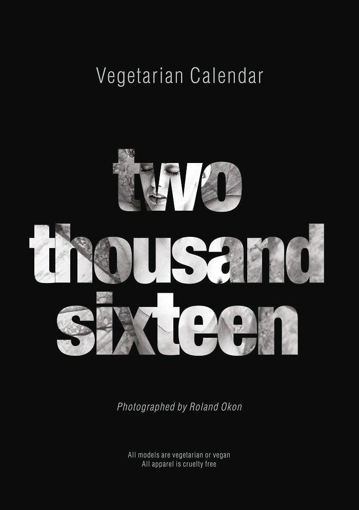 Image of Vegetarian Calendar 2016
