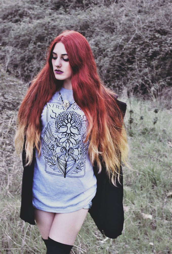 "Image of ""Grey Owlsight"" T-Shirt"
