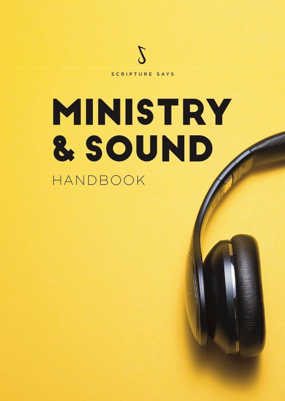 Image of Ministry & Sound Handbook