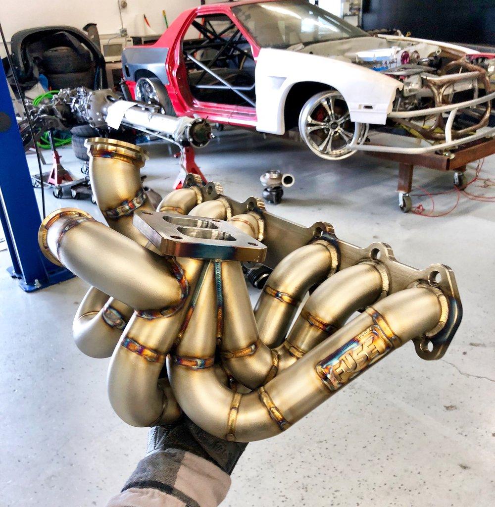 Twin Scroll 1JZGTE Turbo Manifold