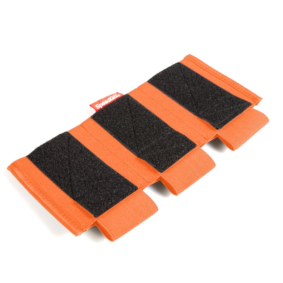 Image of SpeedQB Proton Mag Pouch - Rifle (Triple Stack) - ORANGE