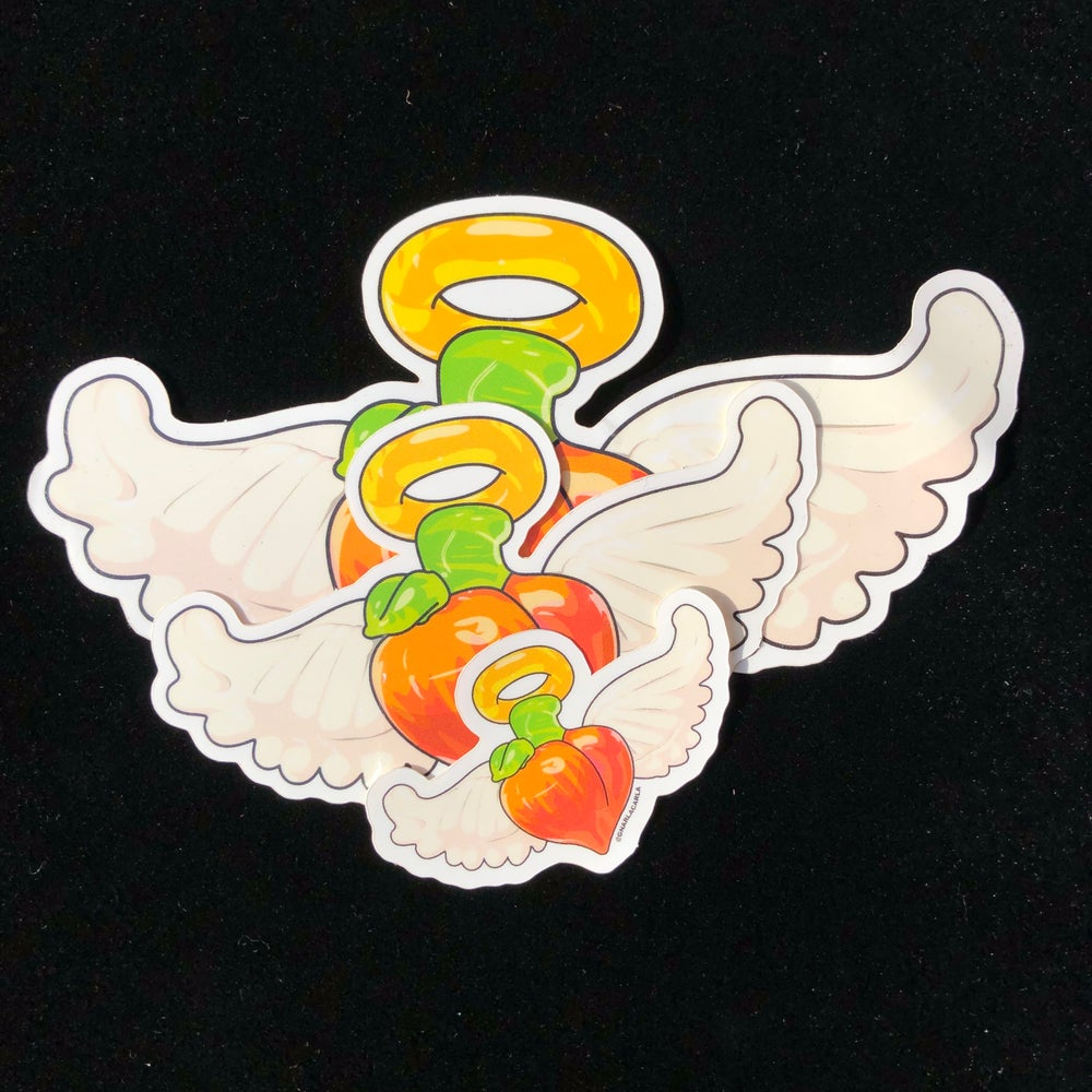 Image of All Peaches Go to Heaven Sticker