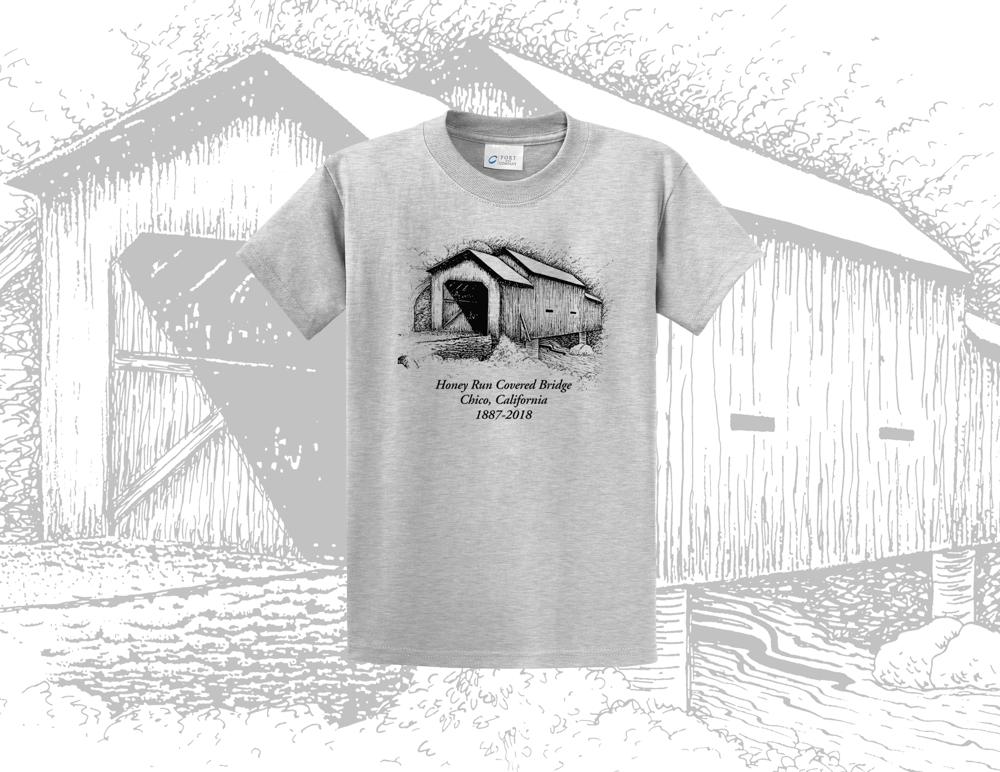 Image of Honey Run Covered Bridge T-Shirt