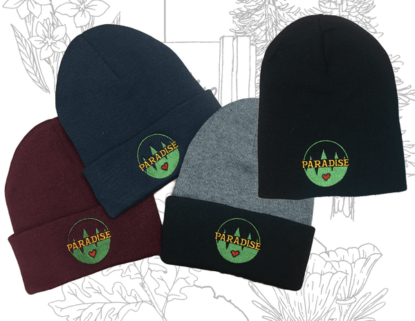 Image of Paradise Embroidered Beanie