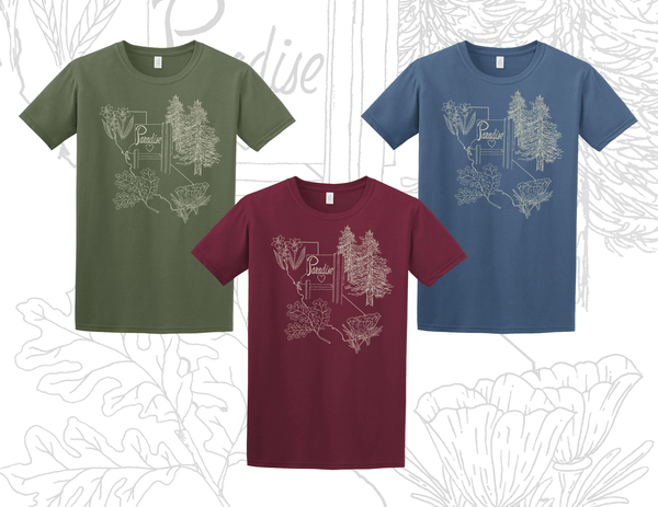 Image of Paradise Plants T-Shirt (PREORDER)