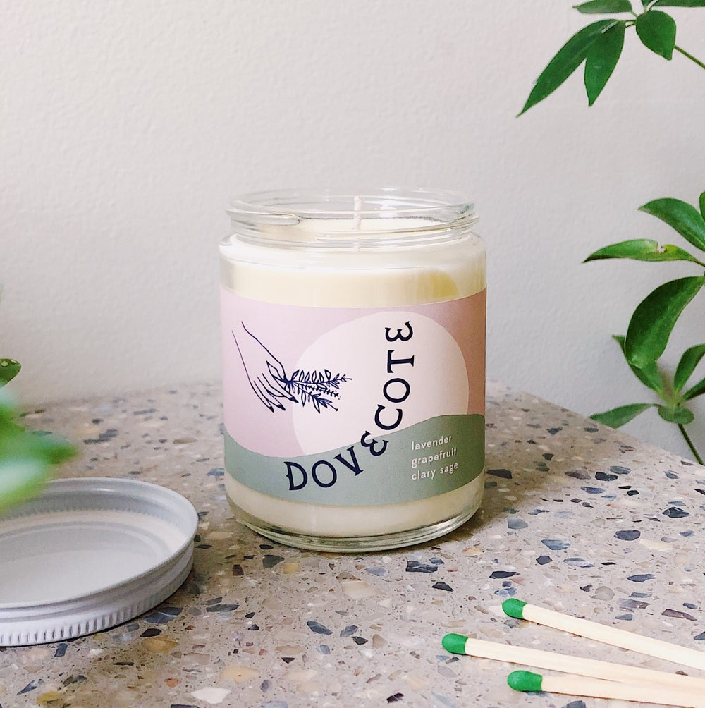 Image of Dovecote Soy Candle scent no.1