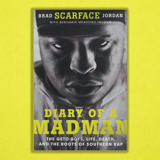 "Image of Scarface ""Diary of a Madman"" Hardcover Book"