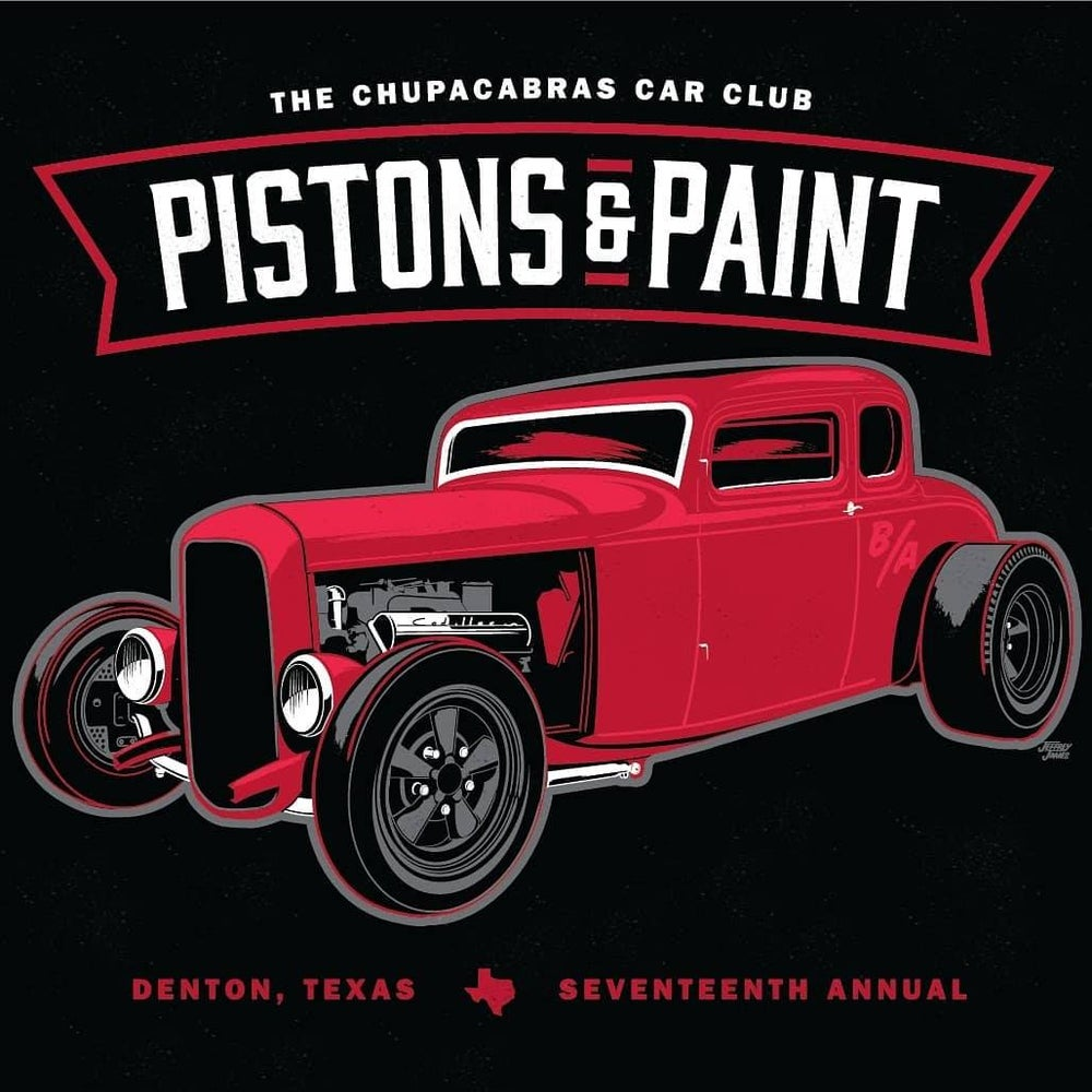Image of 2018 Pistons and Paint Show shirt