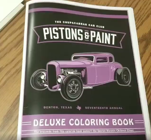 Image of 2018 Deluxe Coloring Book