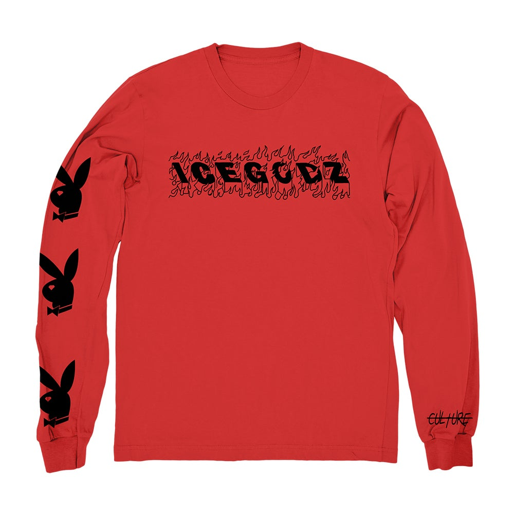 Image of Culture | L/S Tee In Red