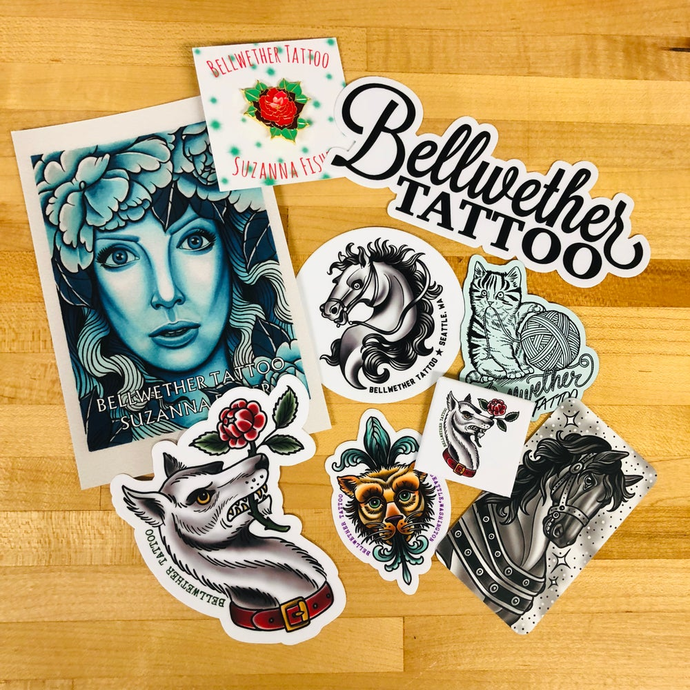 Pin and Sticker Pack
