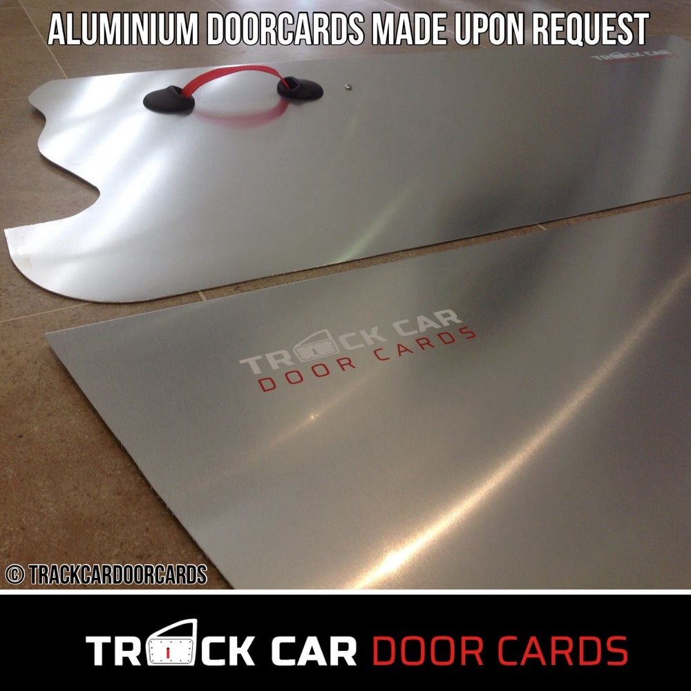 Image of Aluminium doorcards 1.2mm
