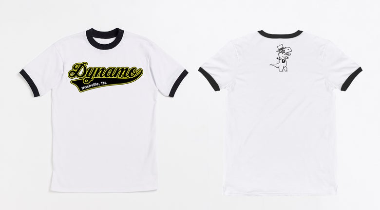Image of Dyna-Mo Baseball T
